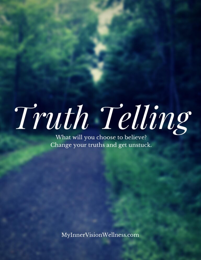 Truth Telling Workbook cover page image